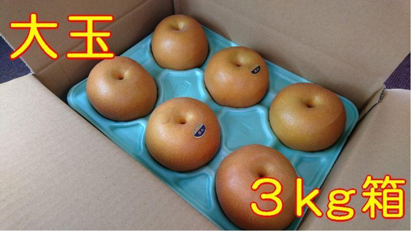 画像1: 豊水 大玉3kg箱(6〜5個入り)